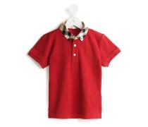 """Poloshirt mit """"House Check""""-Karomuster"""
