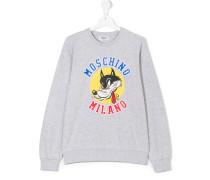 cartoon print sweatshirt