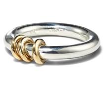 Kane Ring mit 18kt Gelbgold-Elementen