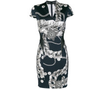 Chain Reaction fitted dress