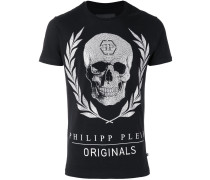 'Bone' T-Shirt - men - Baumwolle/Kristall - S