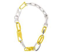 Karabiner-Halskette mit Logo