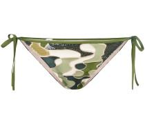 'Make Love' Bikini-Höschen mit Schleifen