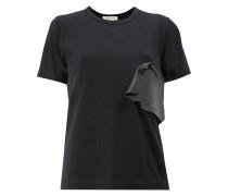 T-Shirt mit Gummi-Applikation