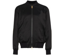 Black Medusa Bomber Jacket