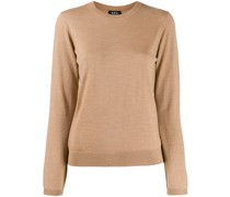 A.P.C. Gerippter Pullover