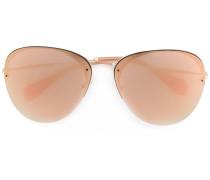 - Sonnenbrille mit Pilotengestell - women - metal