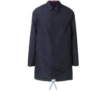Mittellanger Mantel mit klassischem Kragen