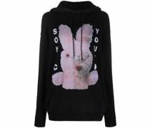 Sonic Youth Bunny Oversized-Hoodie