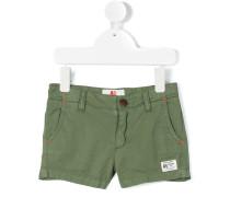 Chino-Shorts mit Logo-Patch - kids - Baumwolle