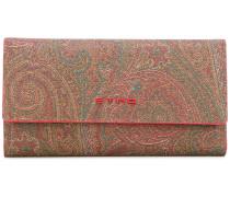 Portemonnaie mit Paisley-Print