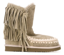 'Eskimo' Stiefel mit Fransen