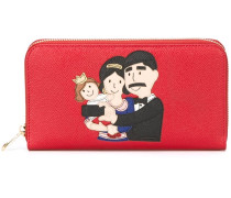 Family patch 'Dauphine' wallet
