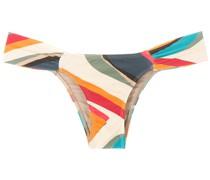 'Ritz' Bikinihöschen mit Print