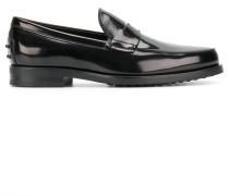 Loafer mit Glanzeffekt