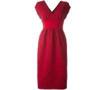 'Runway' Kleid mit V-Ausschnitt