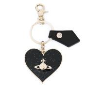 Herzförmiger Schlüsselanhänger - unisex
