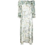 P.A.R.O.S.H. Langes Kleid mit Blumen-Print