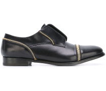 zip detailed loafers
