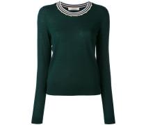 embellished neck jumper - women