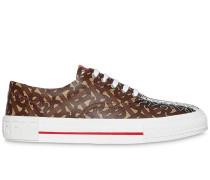 Sneakers mit Monogramm