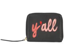 Y'all zip purse