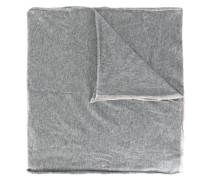 contrast edge scarf
