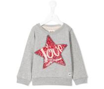 Sweatshirt mit Pailletten-Applkation - kids