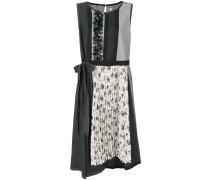 floral applique sleeveless dress