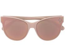Cat-Eye-Sonnenbrille mit Stern-Verzierung