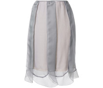 layered tulle slip skirt