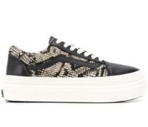 Sneakers mit Felleinsatz