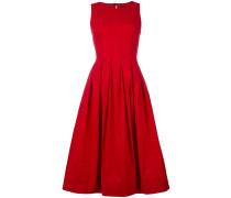 - flared sleeveless dress - women