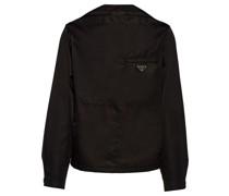 'Re-Nylon' Hemd im Blouson-Stil
