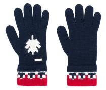 Handschuhe mit Kontrastbündchen
