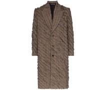 Mantel mit Schlitzen