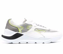 D.A.T.E. Sneakers mit Kontrasteinsätzen