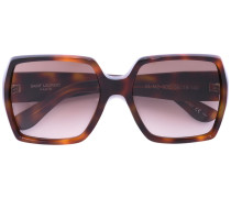 geometric frame sunglasses - unisex - Acetat