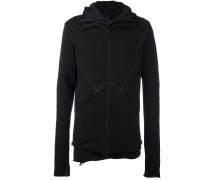 seam detail hoodie