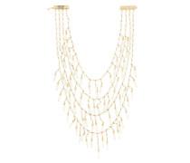 24kt Vergoldete Metall-Halskette