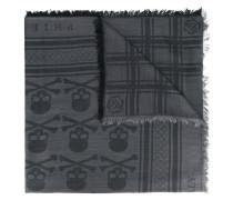 Schal mit Totenkopf-Print - men