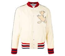 Donald Duck appliqué bomber jacket - men