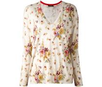 Sweatshirt mit floralem Muster - women