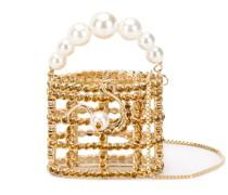 'Baby Holly' Mini-Tasche mit Kristallen