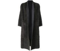 Oversized-Mantel mit Cropped-Ärmeln