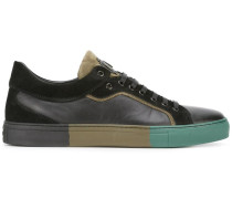 Sneakers mit Sohle in Colour-Block-Optik