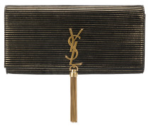 Gestreifte 'Kate' Clutch