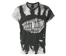T-Shirt mit Spinnweben-Print - men - Baumwolle