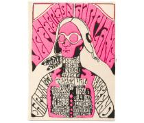 'Jefferson Airplane' Buch-Clutch - women