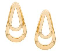 Mittelgroße 'Double Ellipse' Ohrringe